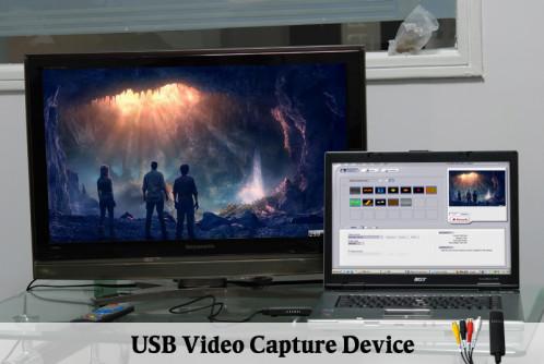 Clé USB de capture vidéo (AV vers PC) CUSBCVAVPC01-07