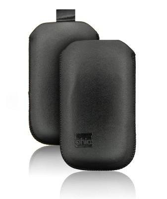 Chic pochette ultra slim Apple iPhone 3G / 3GS / 4 / 4S / Samsung i900 OMNIA Noir CUS-N-01