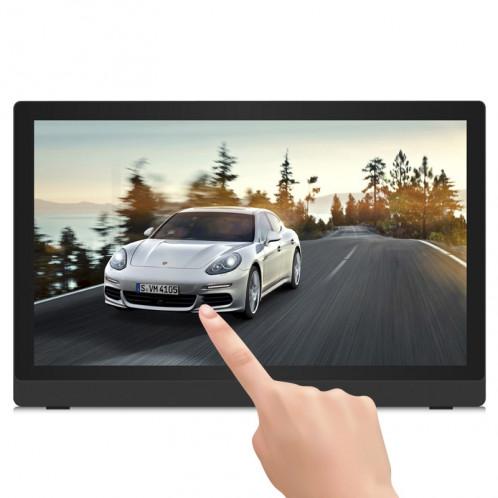 24 pouces Full HD 1080P écran tactile Android 4.4 Cadre photo numérique avec support, Quad Core Cortex A9 1.6G, RK3188, RAM: 1 Go, ROM: 8 Go, prise en charge Bluetooth, WiFi, carte SD, USB OTG (noir) S2227B6-08