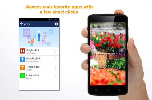 Wisdom 360 Android Smart Key 6 Smart Keys Android colorées / Android 4.0 / Jack 3.5mm / Facile à transporter CW8534-01