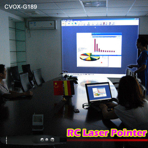 Laser de présentation + récepteur USB LDPRU01-010
