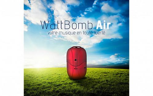 Novodio WattBomb Air Noir Enceinte portable Bluetooth avec batterie intégrée HAUNVO0039-03
