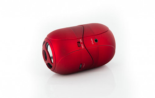 Novodio WattBomb Air Rouge Enceinte portable Bluetooth avec batterie intégrée HAUNVO0040-02