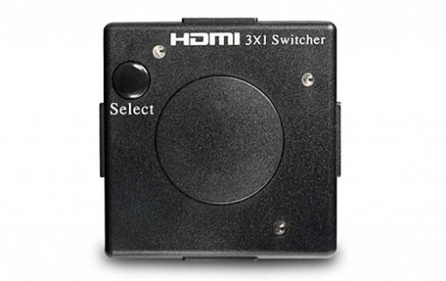 HDMI Switch compact 3 ports V1.3 (3 entrées, 1 sortie) HDMMWY0052-01