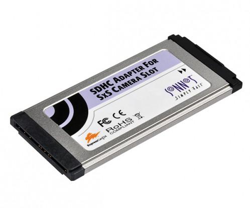 Carte Sonnet Adaptateur SDHC pour slot SxS de camera ou ExpressCard/34 CARSON0042-01