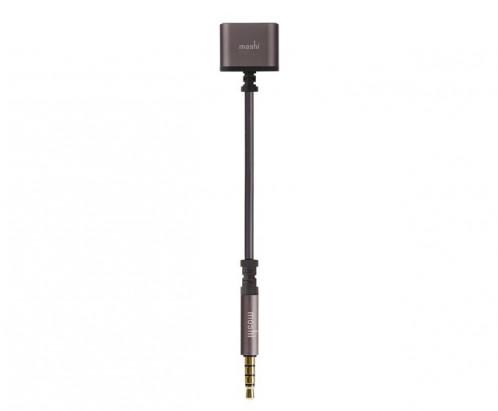 Moshi Splitter Dédoubleur audio jack 3,5 mm AMPMSH0009-01