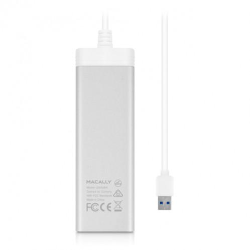 Macally U3HUBA Hub 4 ports USB 3.0 HUBMAY0005-01