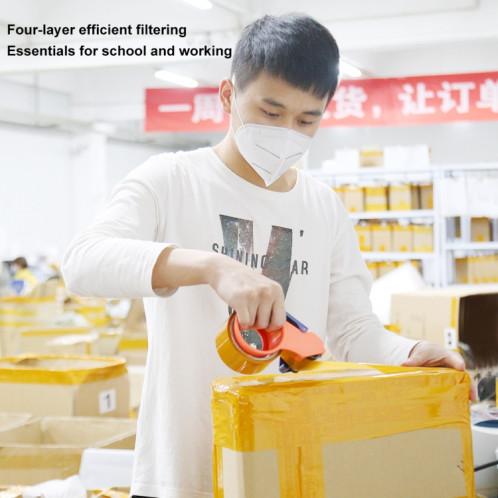 Masque CE / FDA / FFP2 Certifié KN95 n95 Filtre Auto-Amorçant Respirateur Protection Virus Infirmière Masque Facial SHU475390-012