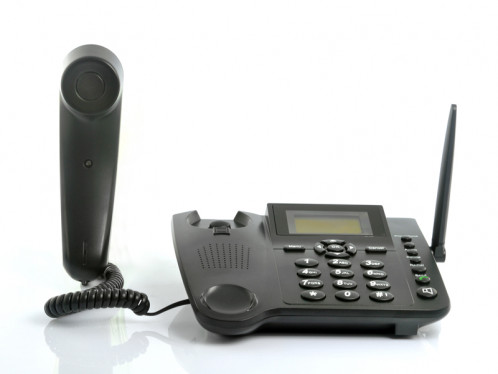 Téléphone fixe GSM (carte SIM) TFGCS01-018