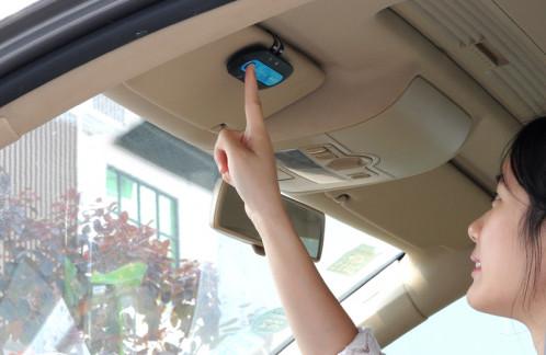 Bluetooth Car Kit mains libres , 16 heures Temps de conversation, DSP Suppression du bruit CB0268-00