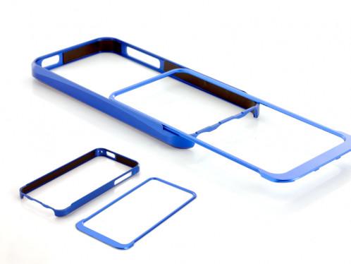 Bumper en aluminium pour iPhone 5 Bleu BAPI5B01-010