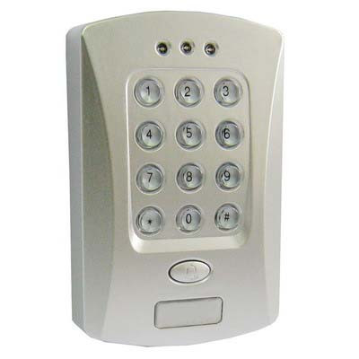 Digicode contrôle d'accès porte DCAP01-02