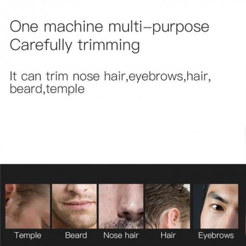 Tondeuse cheveux/barbe multifonctionnelle pour homme fonctionne avec des piles SM9604227-02