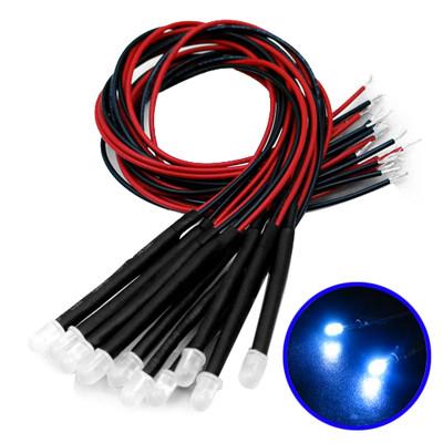 10 Câble LED Bleu décorative 10CLBD02-01
