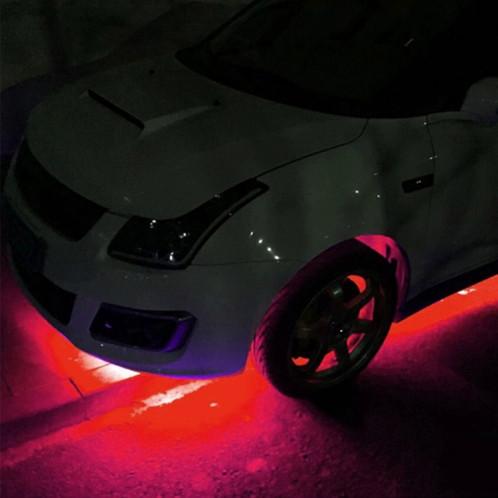 Barre Flexible à 80 LEDs Rouges (120cm) BFLR01-07