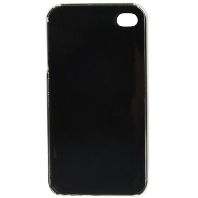 Coque en plastique pour iPhone 4 Drapeau Royaume Unis CPPIDRU01-02