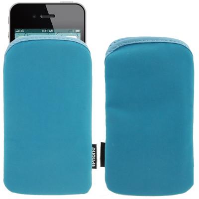 Sacoche pour iPhone 4 et 4S Bleu SPIBB01-01