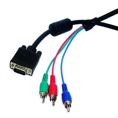 Câble VGA vers RGB 1.5m CVVR15M01-02