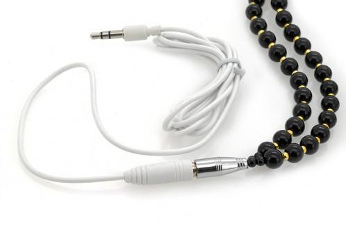 Écouteurs collier Microphone / Cordon d'extension écouteurs / Noir CS7859-01