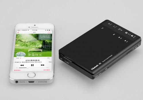 FREE-D Ditto Mini enceinte a resonance / Bluetooth 3.0 / Slot Micro SD / Controles tactiles / Telecommande CF8219-01
