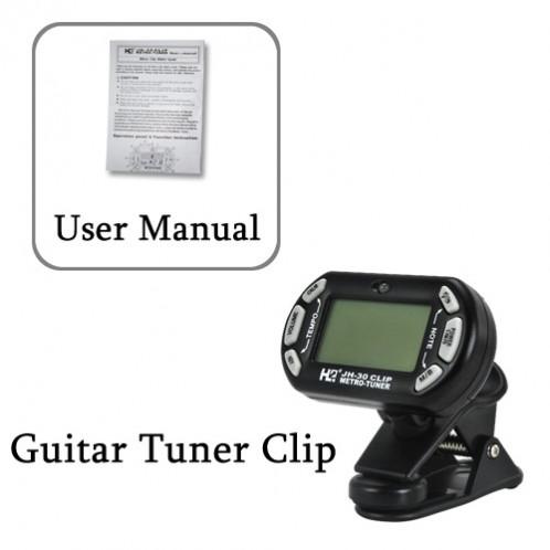 Clip tuner pour Guitare Edition Mini 3-en-1 CG4098-05