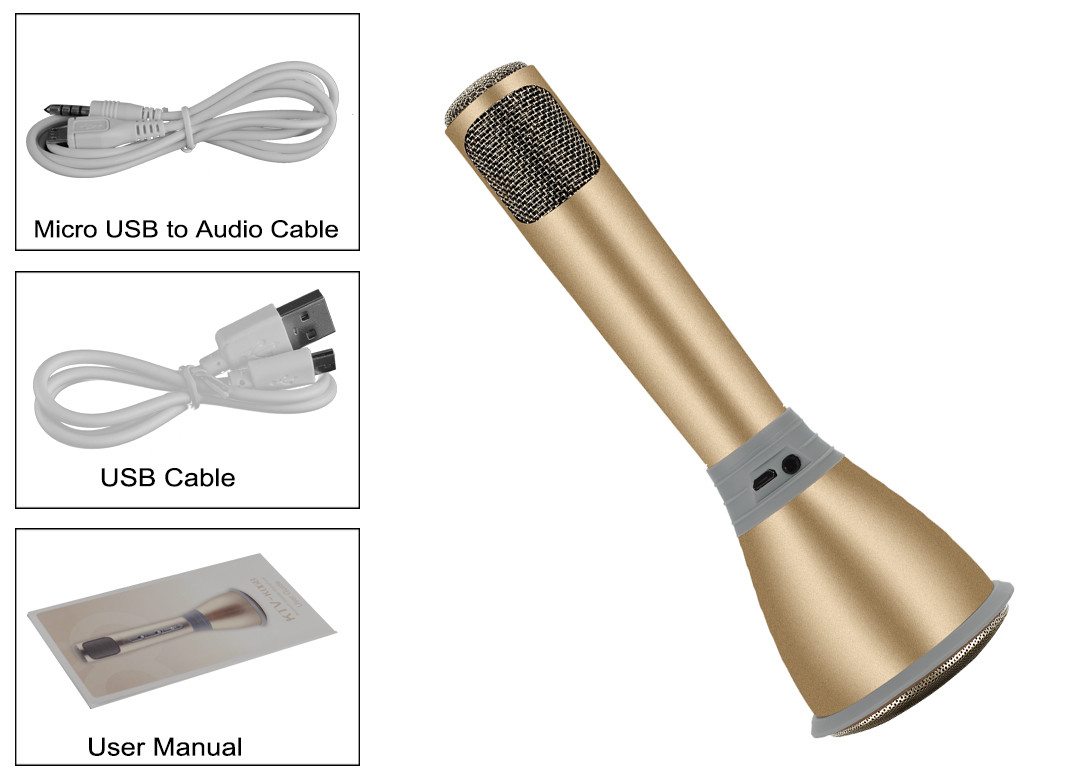 tuxun k068 microphone karaok haut parleur bluetooth 3 0 effets karaok ktv c ble d. Black Bedroom Furniture Sets. Home Design Ideas