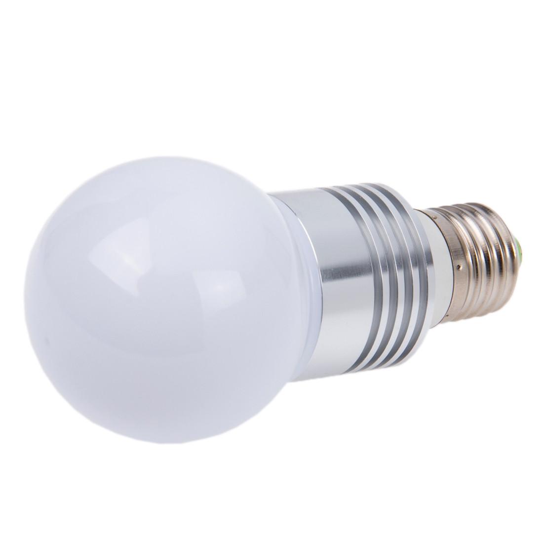E27 TélécommandeAc RgbAvec Led Lampe 1w 220v R5Lqj34A