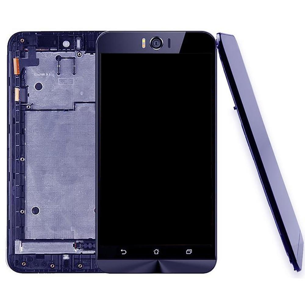IPartsAcheter Pour ASUS Zenfone Selfie ZD551KL Z00UD LCD Ecran Tactile Digitizer Assemblee Avec Cadre