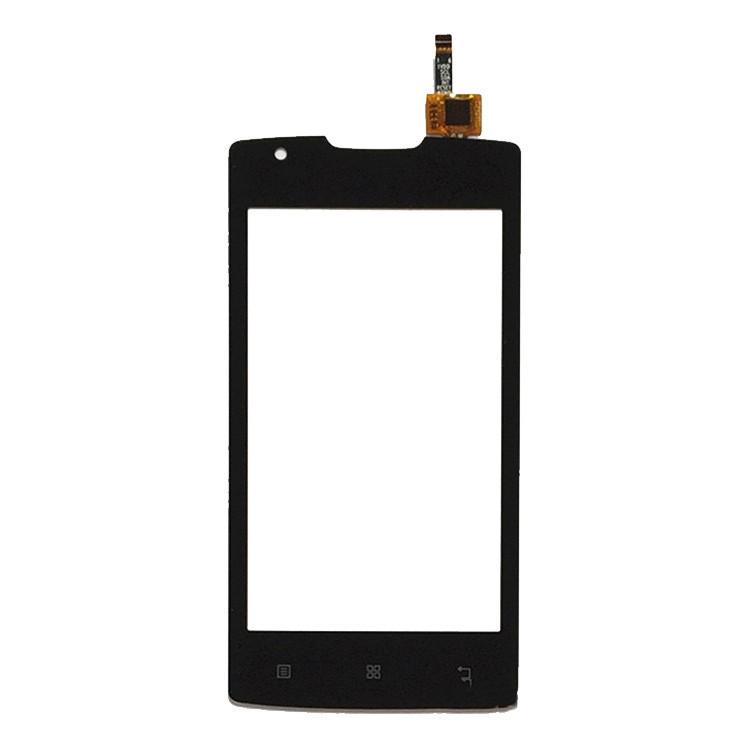 IPartsBuy Lenovo A1000 4 Pouces Ecran Tactile Digitizer Assemblee Noir SI66BL1225 06