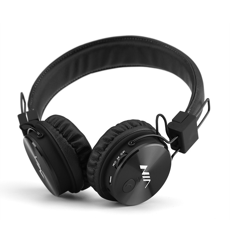 écouteurs Bluetooth Nia X3 Pilotes Hd 40mm Radio Fm Emplacement