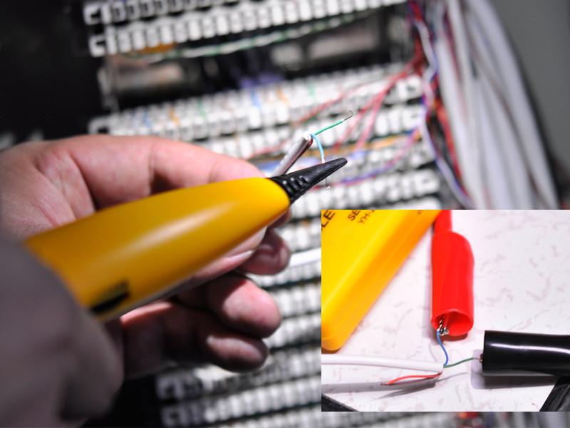D tecteur et testeur de c ble kit m teur r cepteur 100 - Testeur de cable ...
