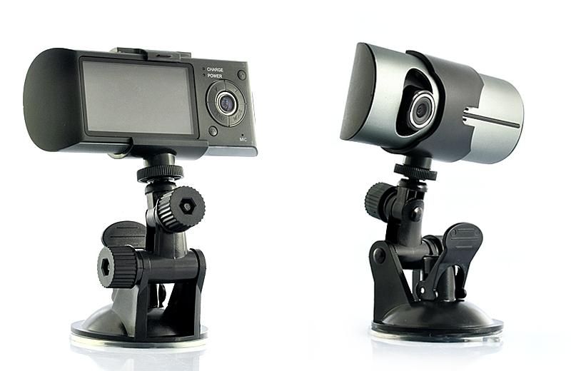 Dashcam caméra double