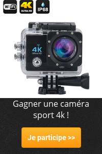 Gagner une caméra sport 4k !